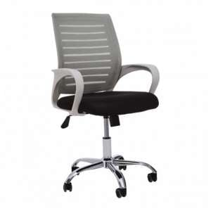 Bicot Home And Office Chair With Armrests In Grey