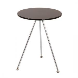 Wito End Table In Black and Chrome
