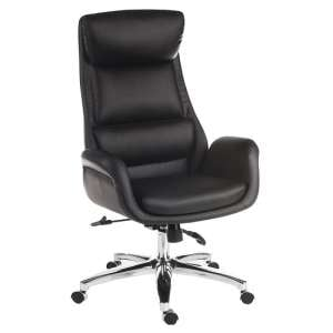 Blasius Reclining Executive Office Chair In Black PU