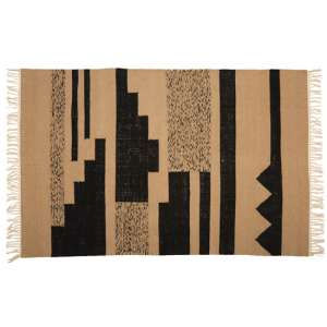 Botin Large Fabric Upholstred Trenza Rug In Multi-Colour