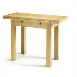 Brento Extendable Dining Table Rectangular In Solid Oak