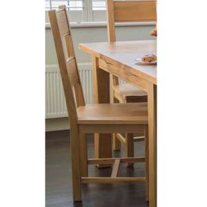 Brex Wooden Dining Chair In Natural