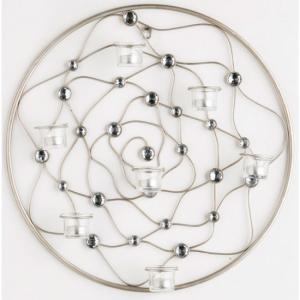 Circular Wire Gem Wall Art