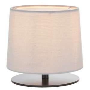 Carlson Table Lamp With Black Metal Stand