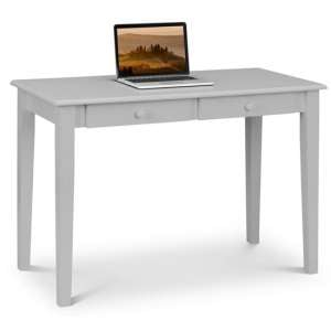 Carrington Wooden Laptop Desk In Grey