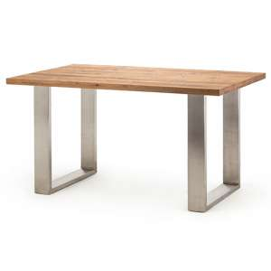 Castello 180cm Tresen Bar Table In Wild Oak