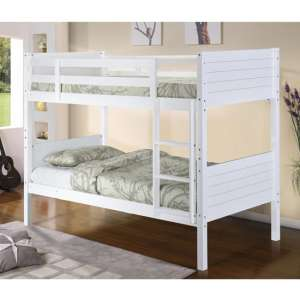 Castleton Wooden Bunk Bed In White