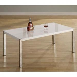 Stefan High Gloss White Coffee Table