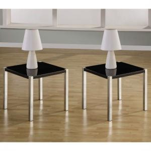 Stefan Lamp Table In Hgh Gloss Black