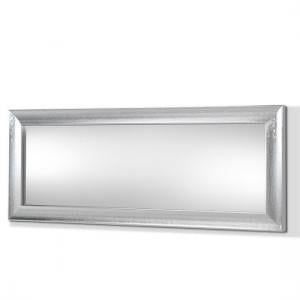 Claire Wall Mirror Rectangular In Steel Effect