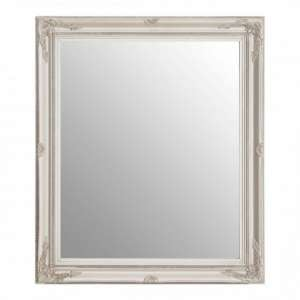 Classily Wall Bedroom Mirror In Silver Frame