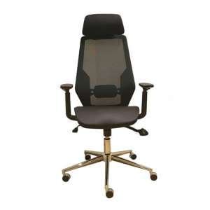 Clifton Home And Office Chair In Black Mesh