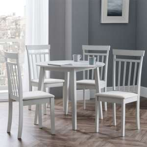 Coast Dining Set In Pebble With 4 Chairs