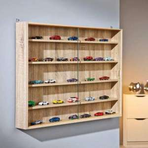 Collectizioni Wooden Display Cabinet In Sonoma