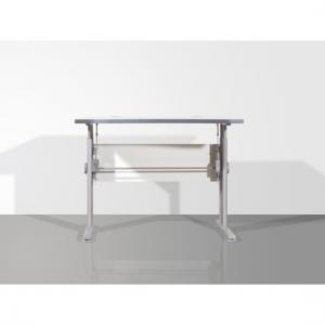 Profi Height Adjustable Light Grey Work Table