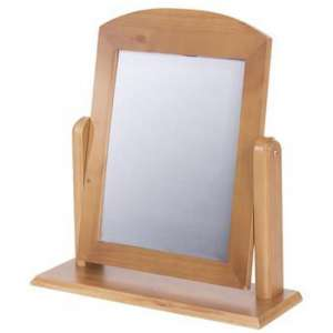 Eden Single Mirror In Golden Tinted Lacquer Finish