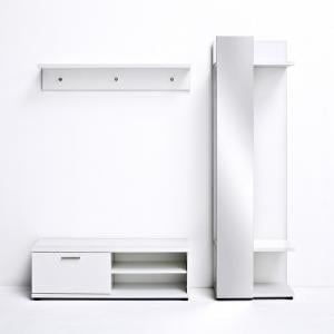 Corona Hallway Set 1 In White Gloss