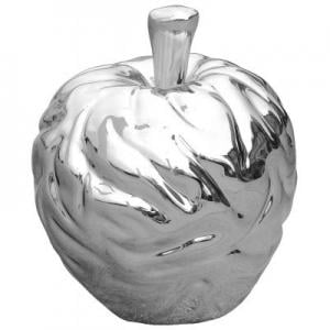 Platinum Apple Sculpture