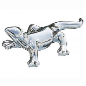 Platinum Gecko Small Sculpture