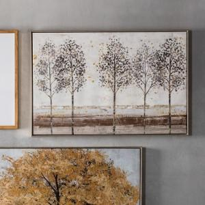 Craven Avenue Of Trees Framed Wall Art