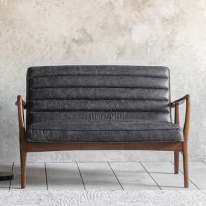 Datsun 2 Seater Sofa In Antique Ebony