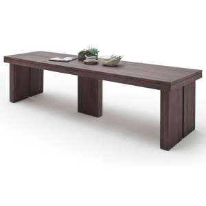Dublin 400cm Wooden Dining Table in Solid Weathered Oak