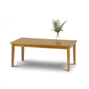 Duchess Wooden Coffee Table Rectangular In Light Oak