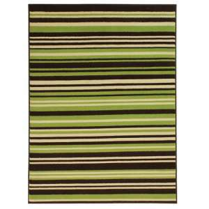 Element Prime Canterbury Green And Brown Rug