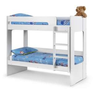 Ellie Wooden Bunk Bed In White