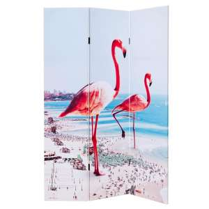 Elvis Giant Flamingos Double Sided Room Divider