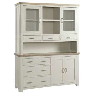 Empire Large Painted Display Cabinet With 4 Doors And 6 Drawers