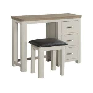Empire Painted Dressing Table And Stool