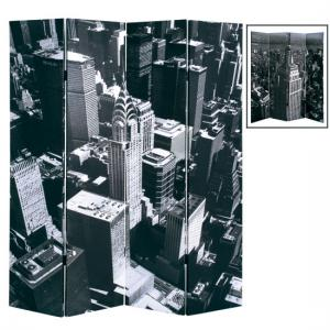 New York Skyline Room Divider