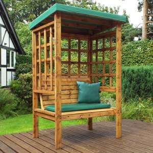 Fela Bramham 2 Seater Arbour In Green