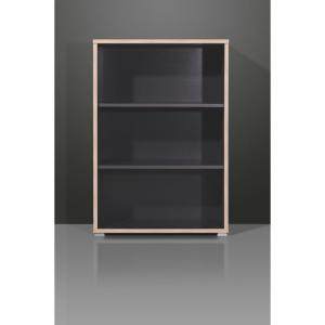 Duo Anthracite Office Storage Cabinet