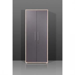 Duo Tall Lockable  Filing Cabinet In Anthracite