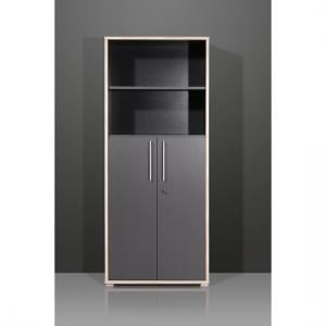 Duo 2 Door Lockable Anthracite Filing Cabinet
