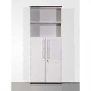 Profi Light Grey Lockable Combination Filing Cabinet