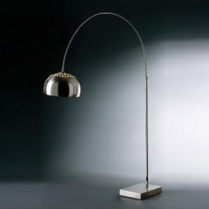 C Shaped Small Floor Lamp