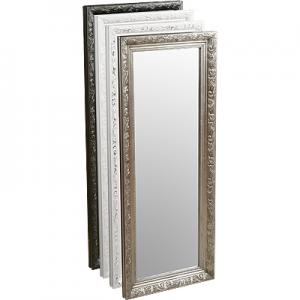 Henry Decorative Wall Mirror In White Only