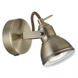 Focus Wall Spot Light In Antique Brass