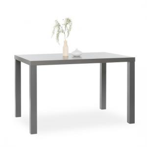Fortis 120cm Dining Table Rectangular In Matt Dark Grey