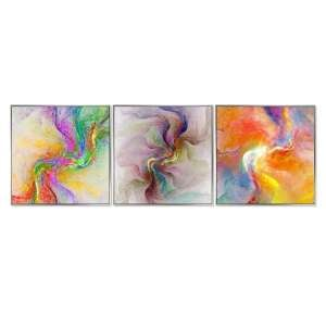 Acrylic Framed Marble Manifest Pictures (Set of Three)