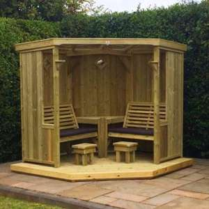 Fresta Wooden Occaisonal Seating Garden Room