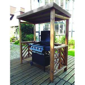 Gesta Dorchester BBQ Shelter In Grey