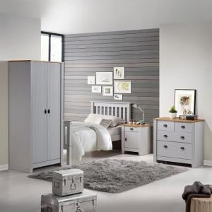 Gibson Wooden Bedroom Furniture Set In Grey And Oak_5