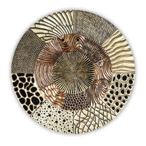 Glorius Wall Object Wooden Wall Art In Gold