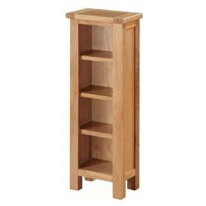 Hartford Wooden DVD Storage Stand In Oak