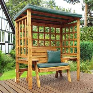 Hatso Wentworth 2 Seater Arbour In Green