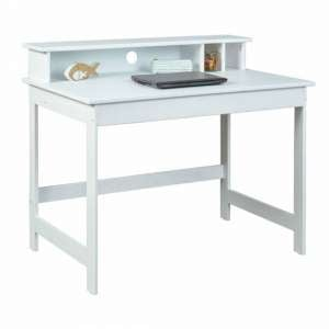Hilda Wooden Childrens Writing Desk In White
